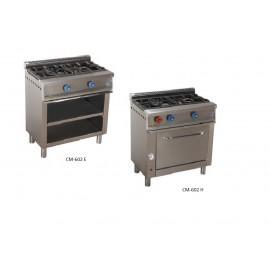 Cocinas industriales, serie 550