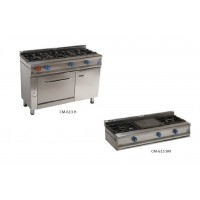Cocinas industriales, serie 613
