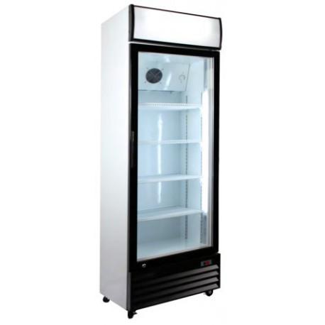 Armario frigor fico con puerta de cristal maquinaria for Armarios baratos segunda mano almeria