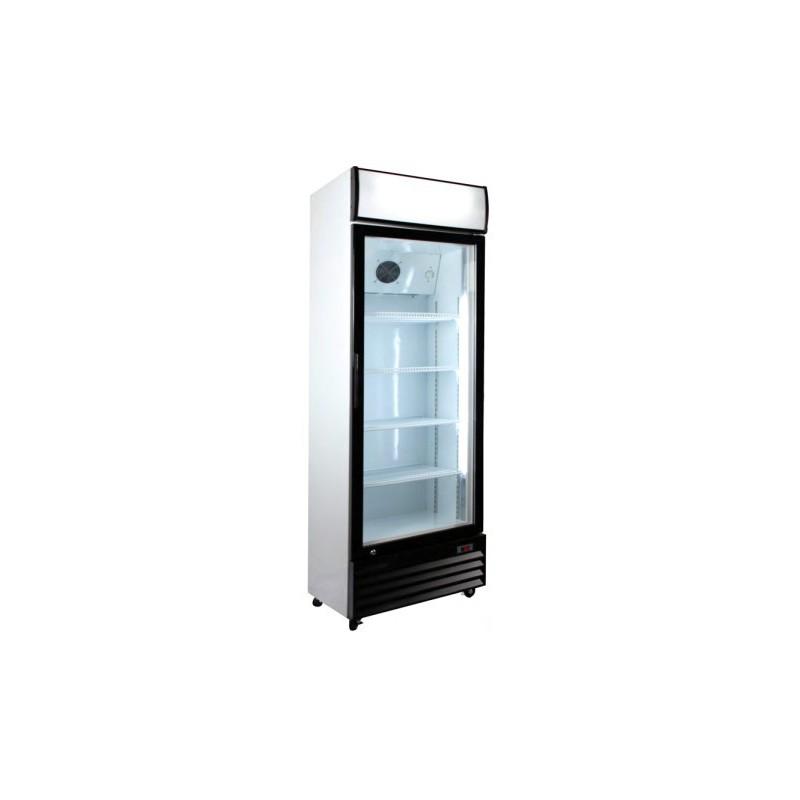 Armario frigor fico con puerta de cristal maquinaria refrihosteleria - Armario con puertas de cristal ...