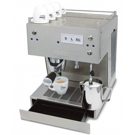 Cafetera ASCASO STEEL DUO