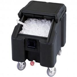 Carro bajo para la conservación de hielo marca CAMBRO 57Kg