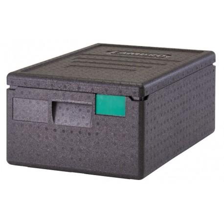 Lote de 8 contenedores marca CAMBRO modelo EFP180 de dimensiones 600x400x316 mm